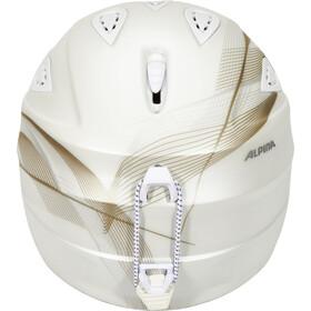 Alpina Grap 2.0 Casco de esquí, white-prosecco matt